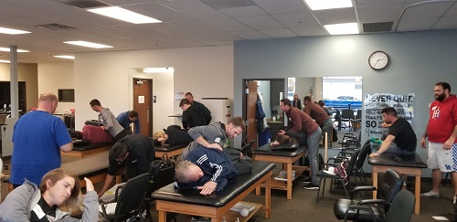 Lab Demonstration of PRI Testing, Myokinematic Restoration, Chandler, AZ