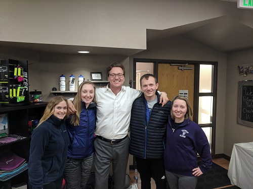 James Anderson with course attendees following Postural Respiration in Fort Collins